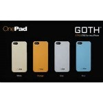 Onepad Goth iPhone5 Cover White